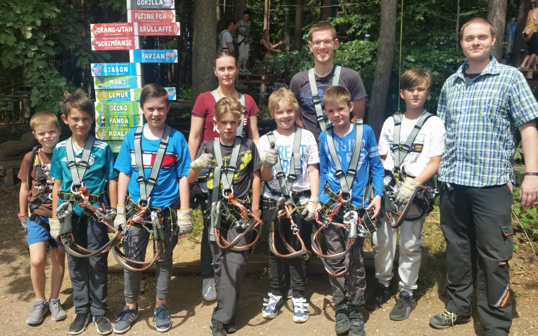Jugendausflug 2019 Klettergarten